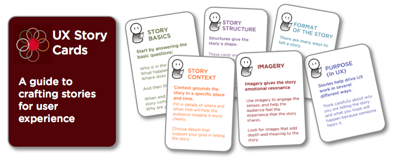UX Storycards - A guide to crafting stories for user experience